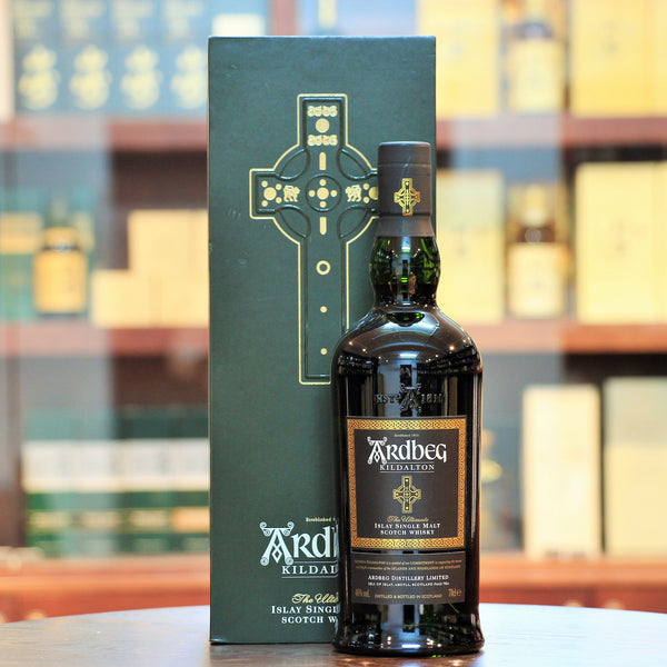 Ardbeg Kildalton 2014 Limited Release, Ex-bourbon and ex-sherry casks. Winner of the Best Islay Single Malts in 2015 World Whiskies Awards. The 1200 year old Kildalton Cross on Islay!
