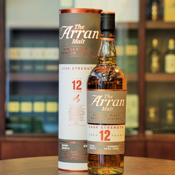 An exclusive and older version of the 12 year Cask strength whisky from Arran. Mizunara The Shop has a unique selection of Whiskies and Spirits including Japanese Gin, Japanese Vodka,Shochu and Rum