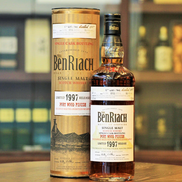 BenRiach 1997 Limited Edition 16 Years Port Wood Finish #7578 Single Malt Whisky