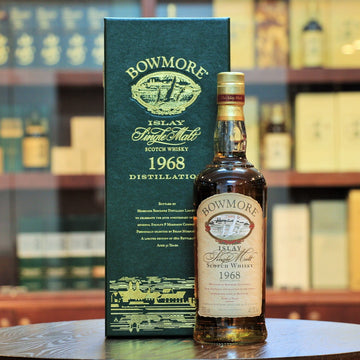 Bowmore 1968 Single Malt Whisky 32 Years 50th Anniversary
