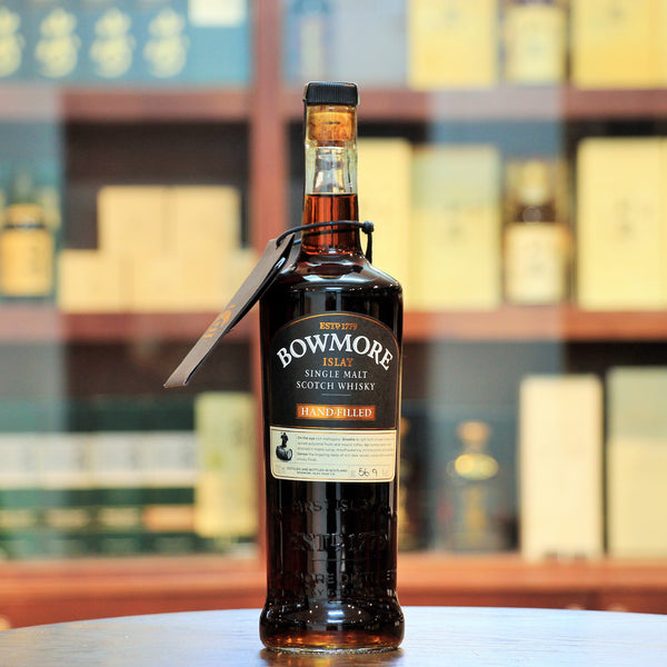 Bowmore Hand Filled 17 Years Vintage 2000 Cask 2495 First-fill Sherry Puncheon Cask 2495. This hand filled bottle has been filled straight from the cask in the famed No.1 Vaults using a traditional valinch.