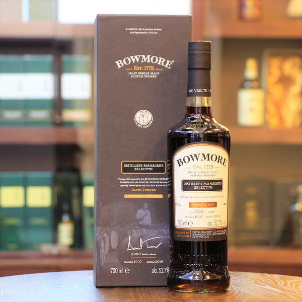 Bowmore 21 Years Old 1997 Distillery Manager's Selection Scotch Single Malt Whisky
