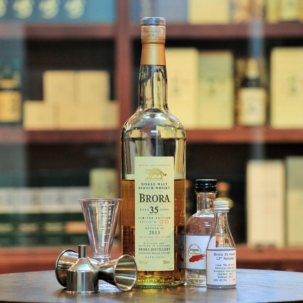 Brora 1977 Single Malt Whisky 12th Release 2013, 35 Years Old (30 ml 100 ml Sample)