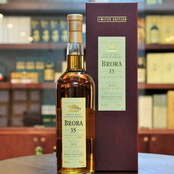 Brora Single Malt Whisky 11th Release 2012, 35 Years Old