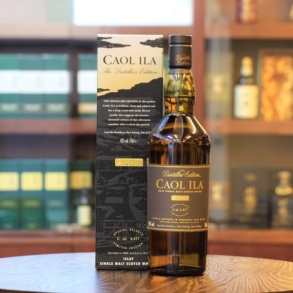 Caol ila, Scotch Single Malt Whisky, Island of Islay, Peated whisky, Distiller's Edition 10 years old