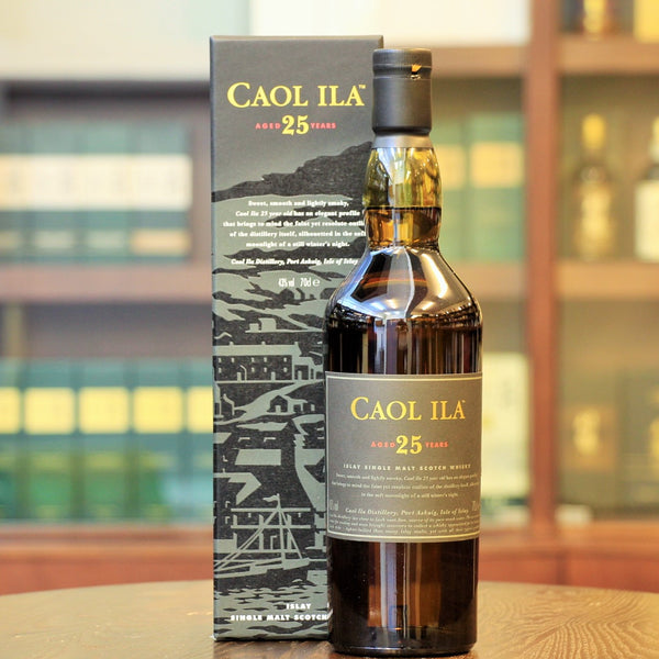 Caol Ila 25 years old scotch single malt whisky available on Mizunara The Shop HK