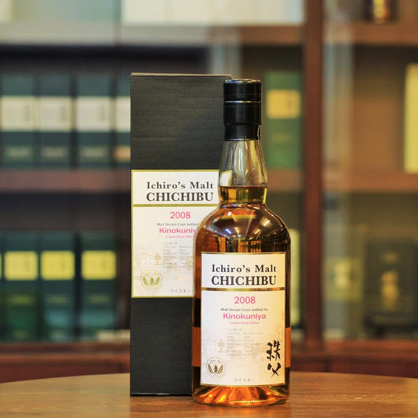 A special malt dream cask from Chichibu single cask bourbon barrel available at Mizunara the Shop