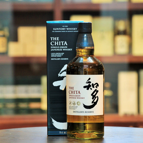 The Chita Grain Single Grain Whisky NAS, Combining a variety of cask matured grain whisky distilled at the Chita Distillery of Suntory, which produces grain whisky. A great choice to enter into the world of whisky.