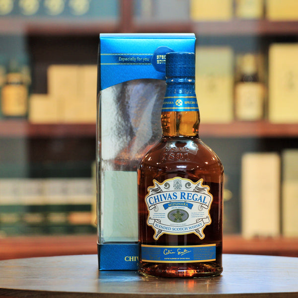 Chivas Mizunara Oak 12 Years Old Japan Edition 2015 Release