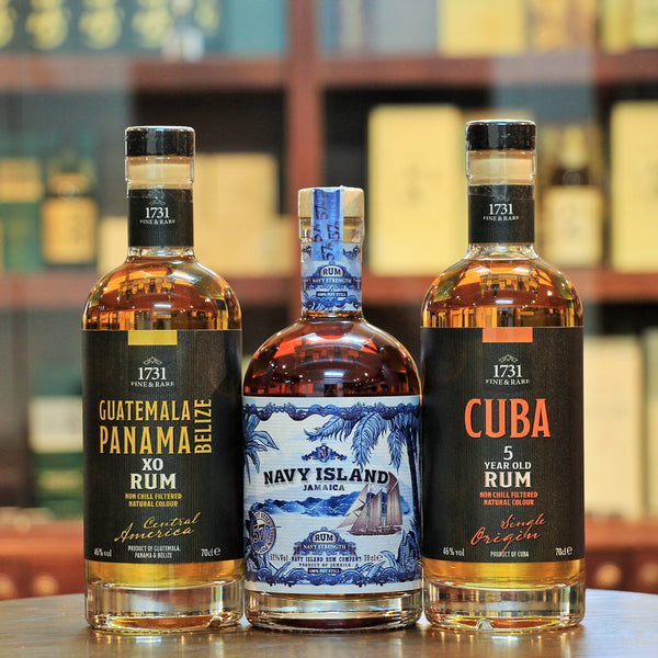 Navy Island Rum and 1731 Fine & Rare Rum Set