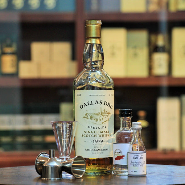 Dallas Dhu 1979 Gordon & MacPhail 32 Years (30 ml 100 ml Sample)