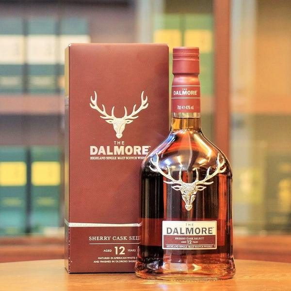 A new addition to the Dalmore range, this is a different release than the usual 12 Year old from Dalmore. Matured in ex-bourbon casks for about ten years and then supposedly further finished for an additional 24 months in a combination of American & European casks from 3 different Andalucian cooperages (Tevasa, Vasyma, Paez) bringing together the influence of a variety of Sherry including Oloroso and Pedro Ximénez.