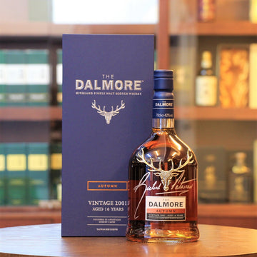 Dalmore 16 Years Old Seasons Collection Autumn 2001 Signed by Richard Paterson Scotch Single Malt Whisky