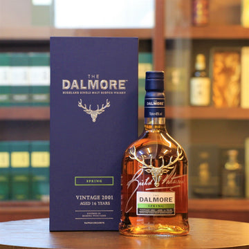 Dalmore 16 Years Old Seasons Collection Spring 2001 Signed by Richard Paterson Scotch Single Malt Whisky