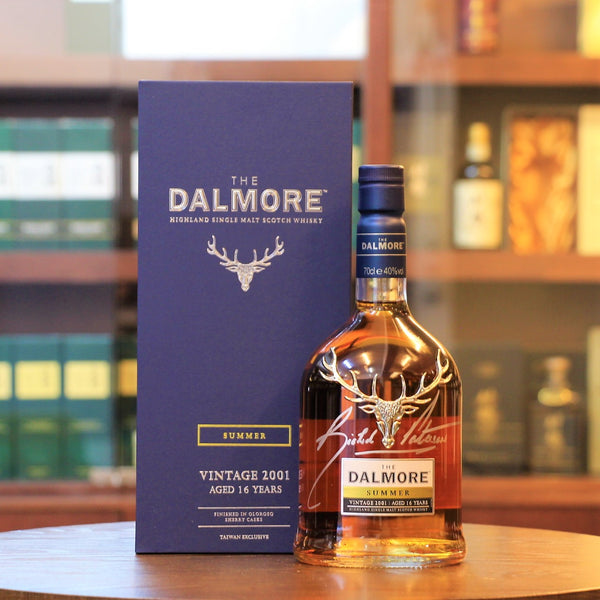 Dalmore 16 Years Old Seasons Collection Summer 2001 Signed by Richard Paterson Scotch Single Malt Whisky