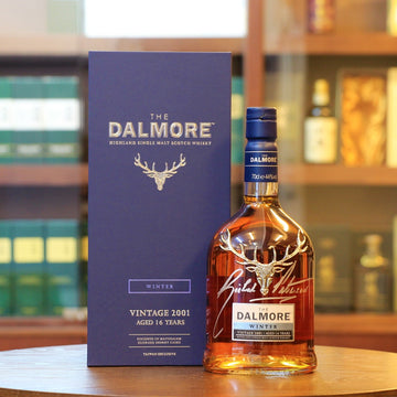Dalmore 16 Years Old Seasons Collection Winter 2001 Signed by Richard Paterson Scotch Single Malt Whisky