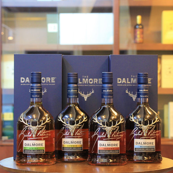 Dalmore 2001 vintage 16y, Seasons Collection, Taiwan only, Richard Paterson Signs,