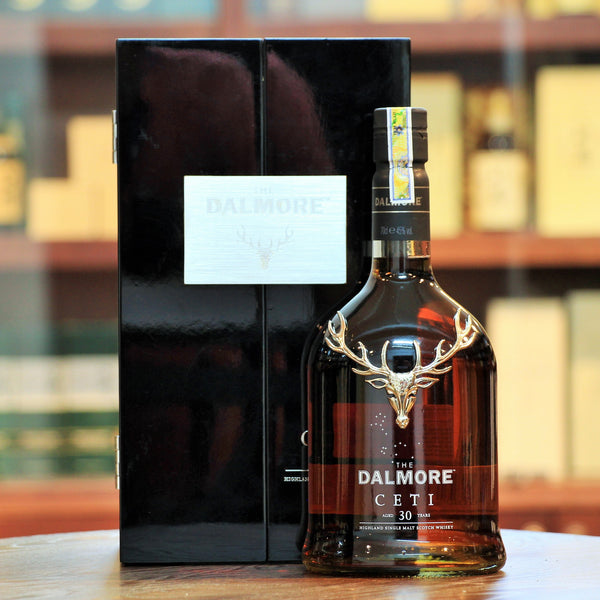 Dalmore CETI 30 Years Single Malt Whisky, First twenty-three years in ex-bourbon barrels before being re-racked into Oloroso sherry butts for an additional seven. Limited to 1000 bottles. The image is for reference only. In case you wish to receive the actual bottle images prior to purchase, please contact us.