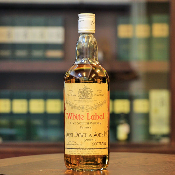 Dewar's White Label Fine Scotch Blended Whisky (1950s/1960s Bottling)