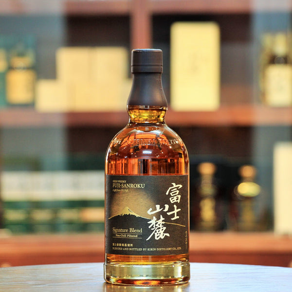 A wonderful blended whisky from Kirin Fuji Sanroku bottled at an ABV of 50%