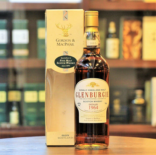 Glenburgie 40 year old , distilled in 1964 bottled in 2005, Independent bottled by Gordon&Macphail, Speyside Single Malt, 43% ABV., 700ml