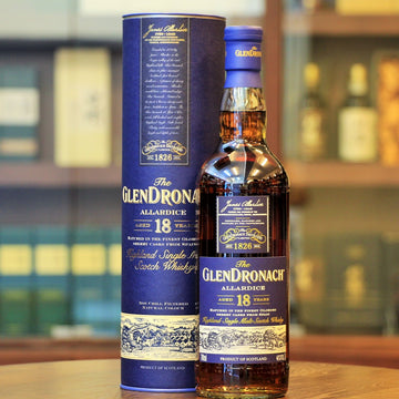 GlenDronach Allardice 18 Years Old Scotch Single Malt Whisky