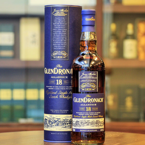 A brilliantly matured sherry cask whisky from Glendronach and available from Mizunara the Shop in Hong Kong