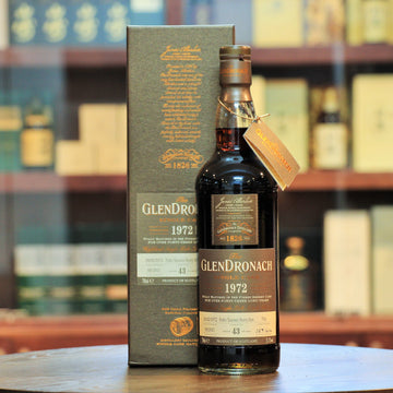Glendronach 1972 Single Cask#706 43 Years Old Single Malt Whisky