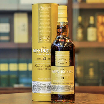 GlenDronach Parliament  21 Years Single Malt Highland Scotch Whisky