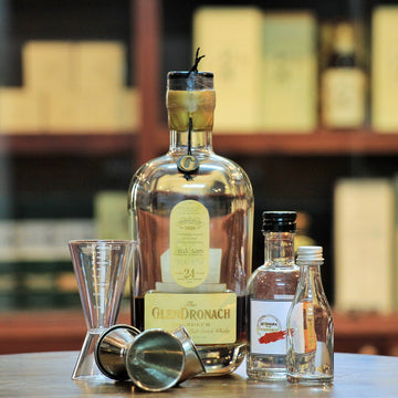 The GlenDronach Grandeur 24 Years Single Malt Whisky (30 ml 100 ml Sample)
