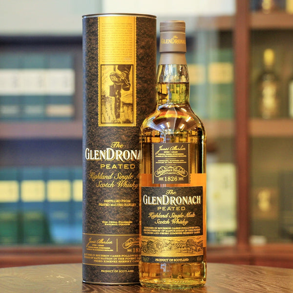 A peated single malt whisky from Glendronach Highland Distillery Mizunara The Shop at Wong Chuk Hang has this unique whisky available on their online store with delivery.