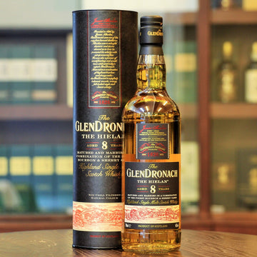 GlenDronach The Hielan 8 Years Old Scotch Single Malt Whisky
