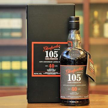 Glenfarclas 105 Cask Strength 40 Years Single Malt Whisky (40th Anniversary)