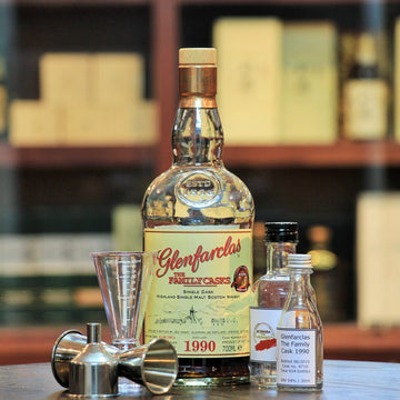 Glenfarclas 1990 Family Cask HNWS 10th Anniversary (30 ml 100 ml Sample)