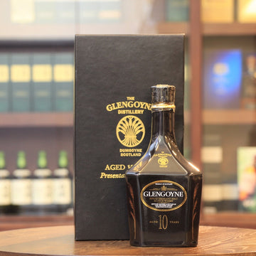Glengoyne 10 Years Old Presentation Decanter Scotch Single Malt Whisky