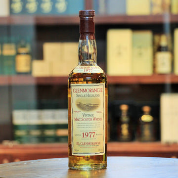 Glenmorangie 1977 Limited Release 1998 Single Malt Whisky