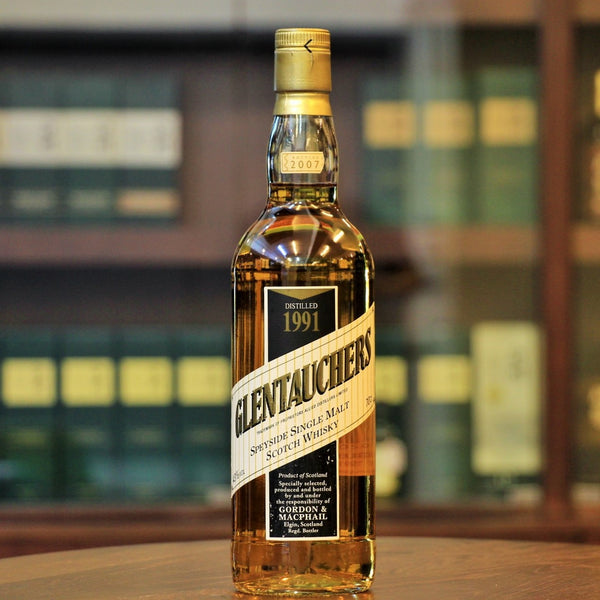 Glentauchers Single Malt Whisky exclusive collection from Mizunara The Shop Hong Kong