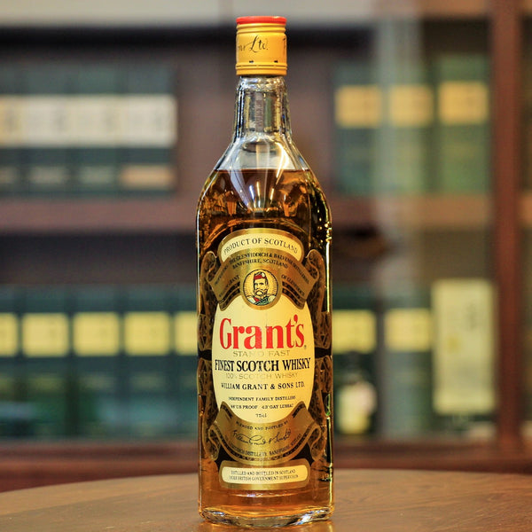 "Grant's ""Stand Fast"" Finest Scotch Whisky 1980s Bottling"