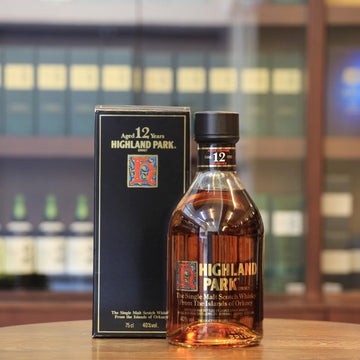 Highland Park 12 Years Old Scotch Single Malt Whisky (1980s Bottling)