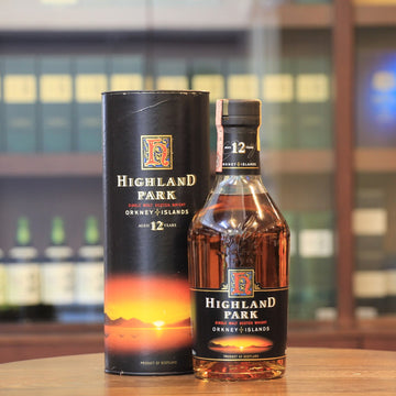 Highland Park 12 Years Old Scotch Single Malt Whisky (1990s Bottling)