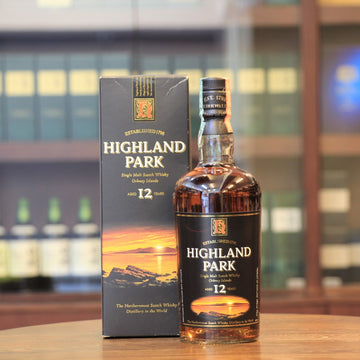 Highland Park 12 Years Old Scotch Single Malt Whisky (2000s Bottling)