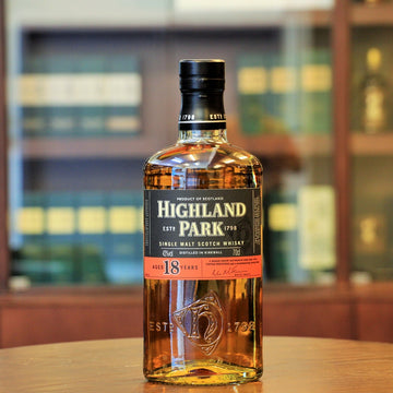 Highland Park Single Malt Whisky 18 Years Old (Old Bottling)