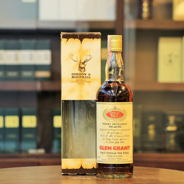 Glen Grant 1948 and 1961 by Gordon & MacPhail Royal Marriage Series Single Malt Whisky