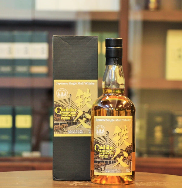 This Japanese single malt from Ichiro's Malt Chichibu distillery is a vatting of two Chibidaru Cask #2409, #2410 which distilled in 2013 and exclusively bottld for Mitsukoshi Isetan in 2018.