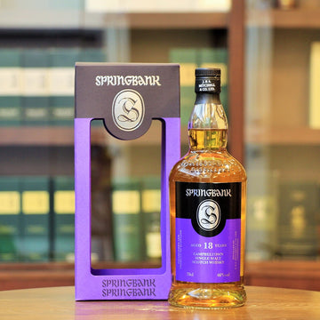 Springbank 18 Year Old 2019 Release Single Malt Whisky