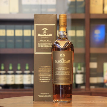 Macallan Edition No. 1 2015 Scotch Single Malt Whisky (700 ml)