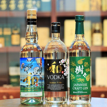 Japanese Craft Gin & Vodka Set