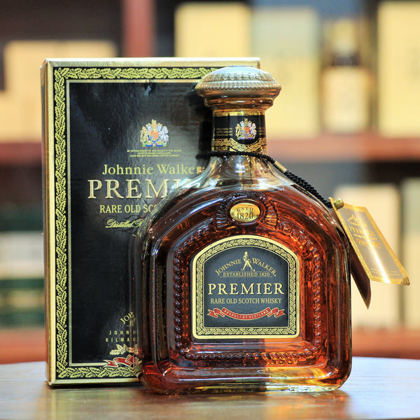 Johnnie Walker Premier Old Bottling (Discontinued), A rare blend from JW long aged stock including some of which are now silent distilleries.