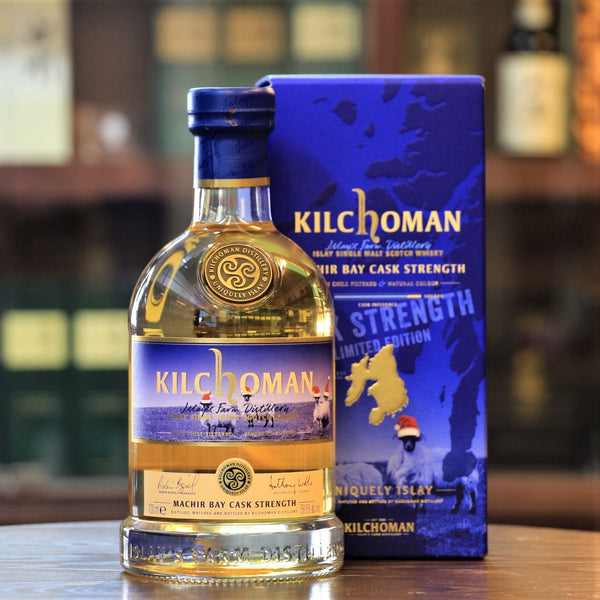 Christmas Edition release of the ever popular Kilchoman Islay Whisky Machir Bay