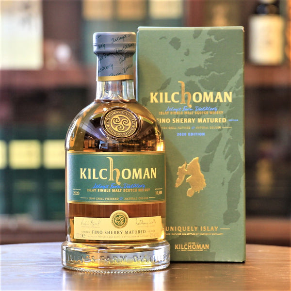 An exclusive and limited Fino Sherry Cask Matured whisky from Kilchoman Islay Whisky Distillery. An absolutely fabulous Single Malt Scotch Whisky. Now available at your friendly neighbourhood Mizunara The Shop in HK
